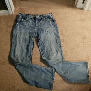 BKE tyler straight leg jeans